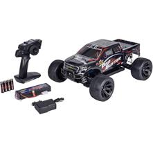 Automodello Carson Modellsport Bad Buster Brushed 1:10 Monstertruck Elettrica 4WD 100% RtR 2,4 GHz incl. Batteria,