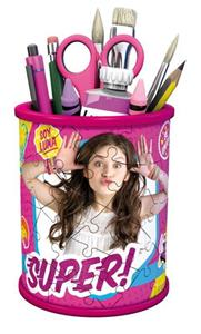 Girly Girl Soy Luna Portapenne. Puzzle 54 Pezzi 3D - 2