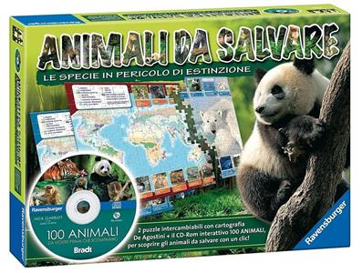 Animali da salvare + CD gioco educativo