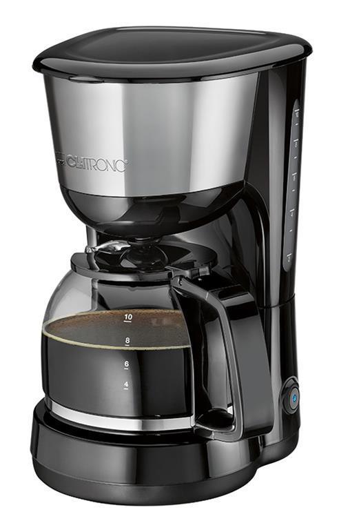 ACCIAIO INSERTO CLATRONIC KA 3575 macchina da caffè, per 8-10 tazze di circa 1,25l E 1000w