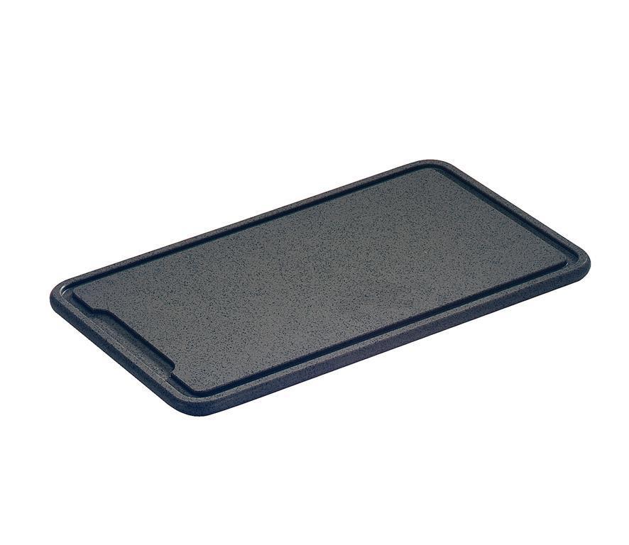 Zassenhaus 060041 tagliere da cucina Rettangolare Plastica Nero