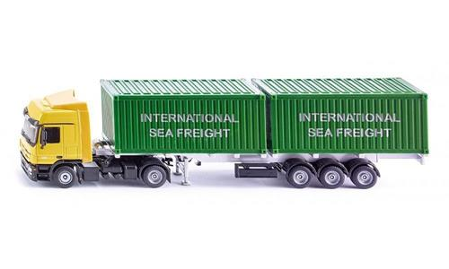 Die Cast Camion Con Container - 2