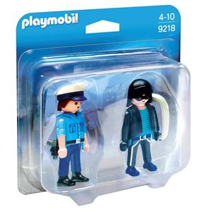 Playmobil Duo Pack. Poliziotto E Ladro - 2