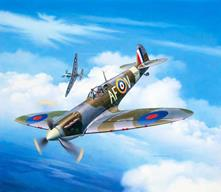 Spitfire Mk IIa Plastic Kit 1:72 Model RV03953