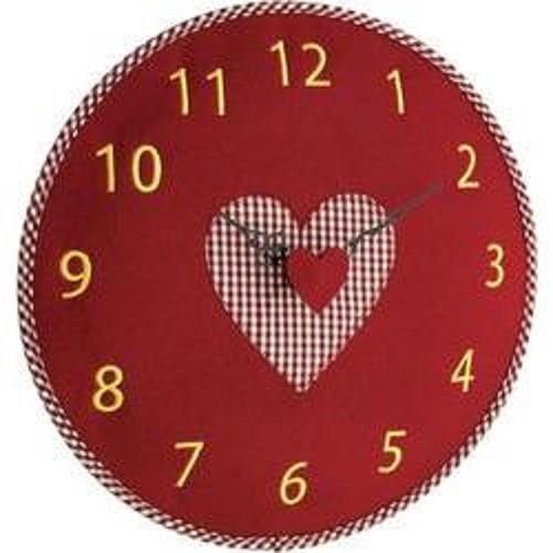 Orologio da parete Cuore Country colore rosso - Tfa - Casa e Cucina ...