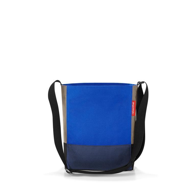 negozio online bfcef abb5f Reisenthel Borsa A Tracolla S Patchwork Royal Blue Shopping Bag Con  Tracolla Accessori Donna