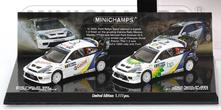 Ford Focus Rs Wrc Mexico 2004 Double Winners Rally Mexico 2004 Maertin Park Duval Set 1:43 Model RIP402048378