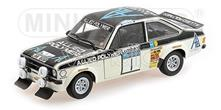 Pm100758401 Ford Escort Ii Rs1800 N.1 Winner Rac Rally 1975 T.Makinen-H.Liddon 1.18 Modellino Minichamps