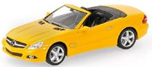 Mercedes Benz Sl Class 2008 Yellow 'Linea Giallo' 1:43 Model RIP436037530