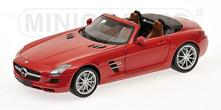 Mercedes Benz SLS AMG Roadster 2011 Red Metallic 1:18 Model RIP100039030