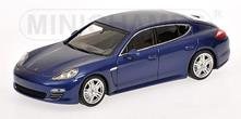 Porsche Panamera 4 2011 Blue Metallic 1:43 Model RIP400068220