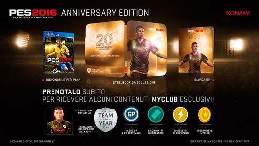 PES 2016 Pro Evolution Soccer 20th Anniversary Edition - 5