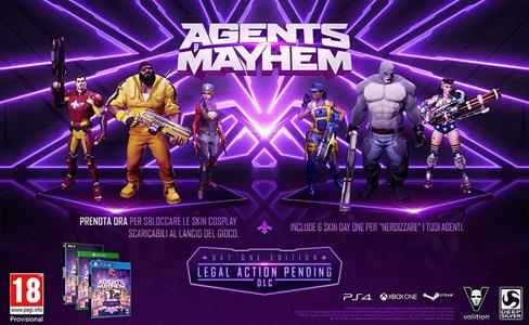 Agents of Mayhem - PS4 - 4