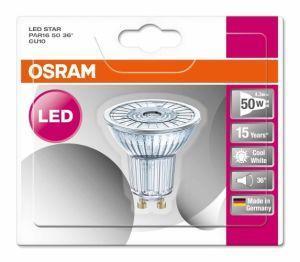 Lampade Ad Induzione Osram.Osram Led Star Par16 Lampada Led Bianco Freddo 4 3 W Gu10 A