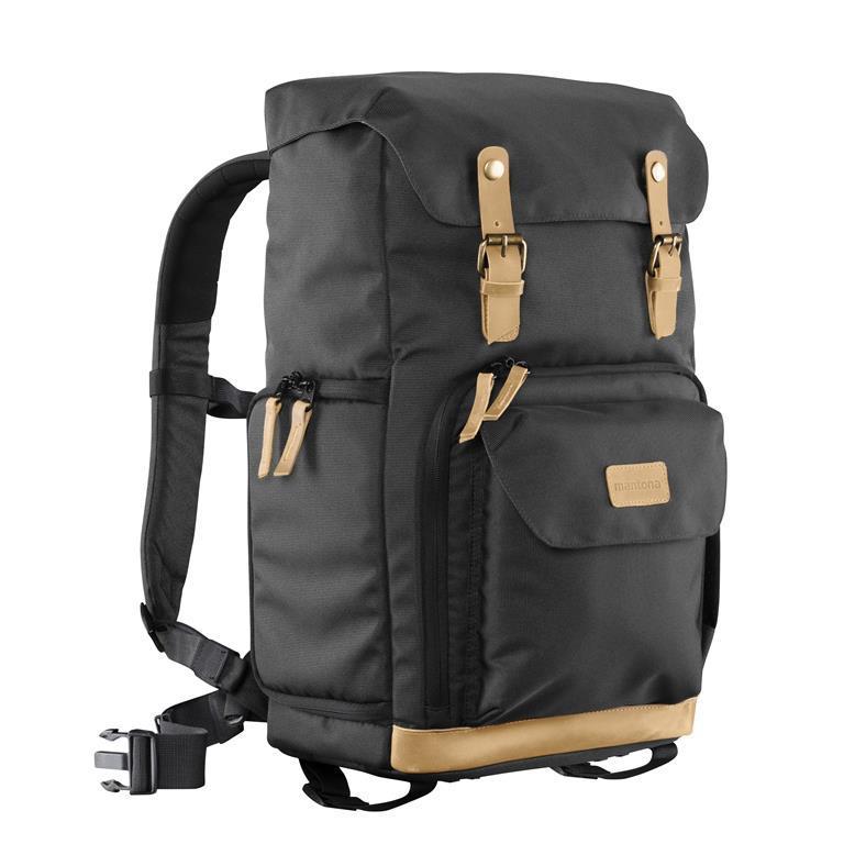 1dd61a8549 ... Accessori foto e videocamere · Custodie e borse · Mantona 21343 Zaino  Nero, Verde custodia per fotocamera
