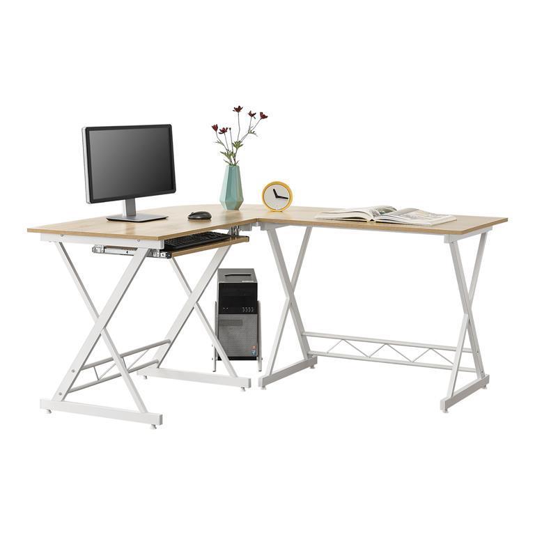 Scrivania Ad Angolo Per Computer.Scrivania Angolare Per Computer Tavolo A Forma Di L Con Supporto