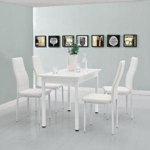 Tavolo Da Pranzo Bianco Moderno Offre 4 Posti Tavolo Da Cuscina En Casa Casa E Cucina Ibs