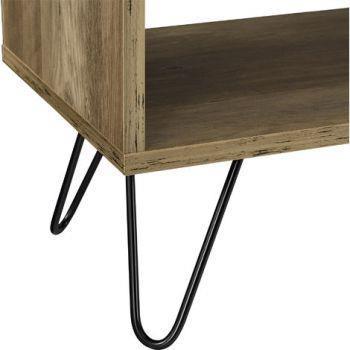 Comodino da letto. Tavolino di design. 48 x 29.5 cm. Gambe Hairpin ...