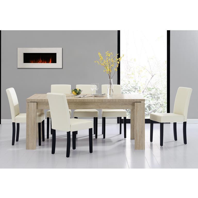 Tavolo da pranzo e set di sedie \'Helsinki\' 6 sedie