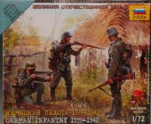 German Infantry 1939-1942 Plastic Kit 1:72 Model Z6105