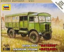 British WWII Truck Matador Plastic Kit 1:72 Model Z6175