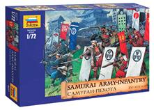 Samurai Army Infantry XVI-XVII AD Figure Plastic Kit 1:72 Model Z8017