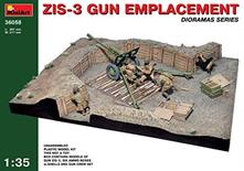 Zis-3 Gun Emplacement Plastic Kit 1:35 Model MIN36058