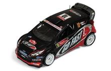 Ram495 Ford Fiesta Rs Wrc N.10 13Th Monte Carlo 2012 Solberg-Minor 1.43 Modellino Ixo Model