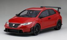 Mugen Civic Type R Milano Red Top Speed 1:18 Model RIPTS0113