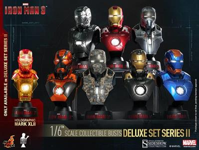 Iron Man Coll Bust 8-Pack Box - 2