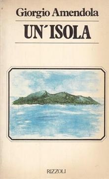 Un' isola - Giorgio Amendola - copertina