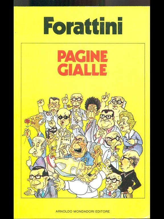 Pagine gialle - Giorgio Forattini - Libro Usato ...