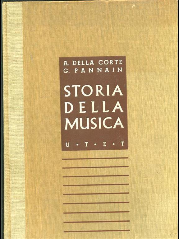 7 Storia della musica