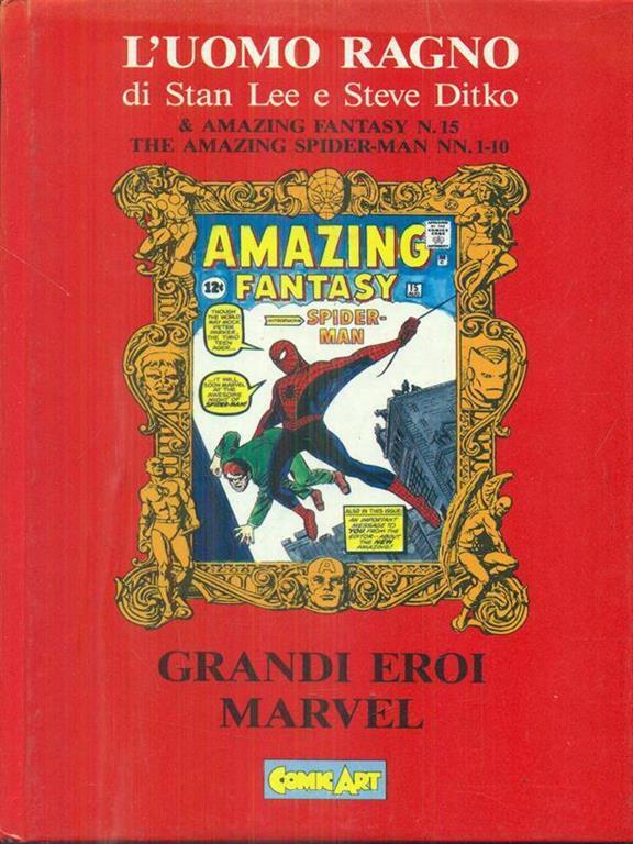 L 39 uomo ragno libro comic art grandi eroi marvel ibs - Libro da colorare uomo ragno libro ...