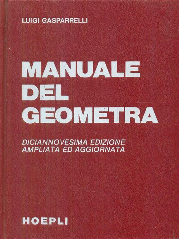 manuale del geometra