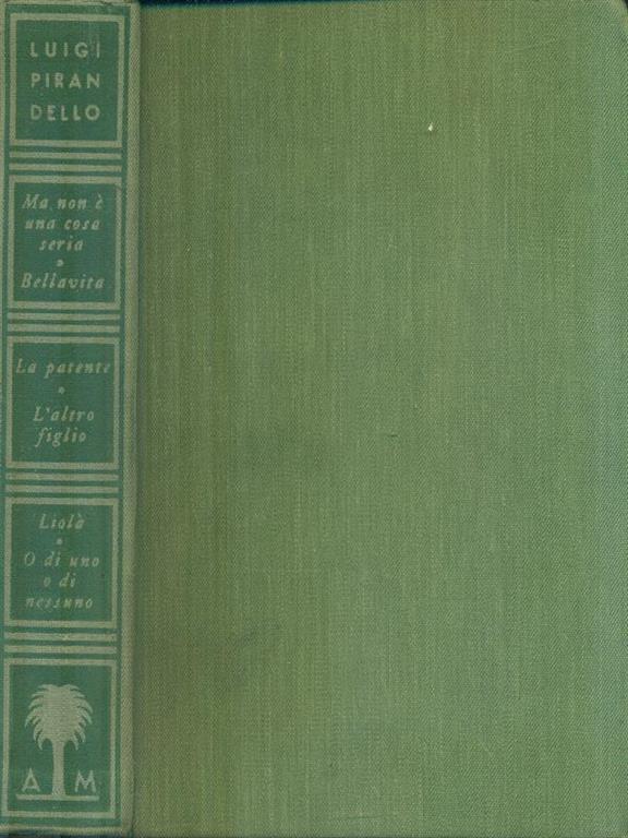Maschere Nude VIII - Luigi Pirandello - Libro Usato