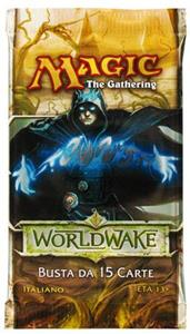 WOTC Magic Worldwake busta 15 carte (IT)