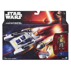 Star Wars E7 3.75In Class I Deluxe Vehicles Ast. B3676