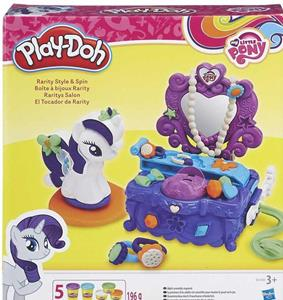Play-Doh. My Little Pony. Rarity Style and Spin - 2