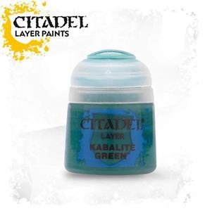 Citadel Layer. Kabalite Green