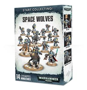Games Workshop Warhammer START COLLECTING SPACE WOLVES (70-53)