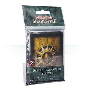Sepulchral Guard Sleeves. Bustine Protettive Shadespire