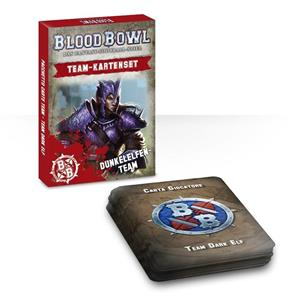 Carte del team di Blood Bowl: Dark Elf (ITALIANO)