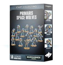 Games Workshop Start Collecting! Primaris Space Wolves Personaggio da collezione Adulti e bambini