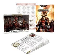 Warscroll Cards. Blades of Khorne (Italiano)