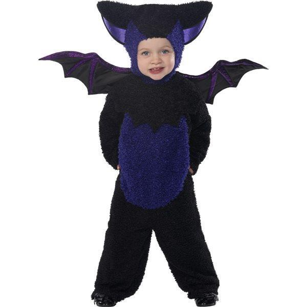 vendita outlet gamma completa di articoli autentico Costume Pipistrello Bambino Halloween Small 1 - 2 Anni 89 cm