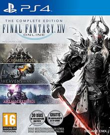 Final Fantasy XIV Online The Complete Ed - PS4