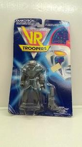Saban's Vr Troopers. Action Figure: Tankotron. 1994