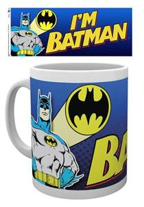 Tazza Batman Comic. I'm Batman Bold - 2
