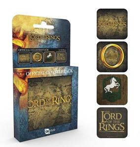 Set 4 Sotobicchieri Lord Of The Rings. Mix - 2